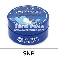 [SNP] Bird's Nest Aqua Eye Patch (1.25g*60ea) 1 Pack / Birds Nest / Korea /(UL3)