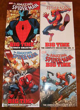 The Amazing Spider-Man BIG TIME Ultimate Collection TPB Lot Slott Volume 1 2 3 4