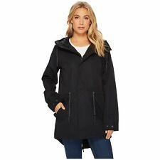 $300 Burton Women's Black Sadie Wateresistant Hooded Zip Rain Jacket Coat Size S