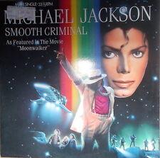 "12"" MAXI MICHAEL JACKSON SMOOTH CRIMINAL ,NEAR MINT,EPIC 1987 ,Holland Press,Rar"