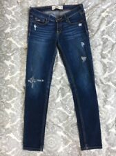 Dunkle Ripped Jeans, Hollister