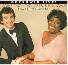 Gershwin Live! / Sarah Vaughan, Michael Tilson Thomas / Los Angeles Philhar - LP