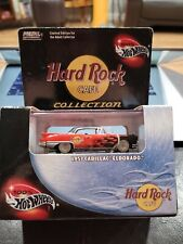 100% Hot Wheels Hard Rock Cafe Collection 1957 Cadillac Eldorado 2002 RED