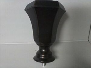 NEW Allen + Roth Brand Decorative Curtains Oil-Rubbed Bronzed Finish Finial