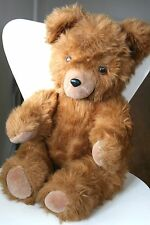 Beautiful Teddy Bear Large Vintage 1970s Brown 60 cm Fully Jointed