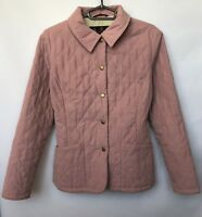 Woomens Jacket Barbour Size UK 12 Button