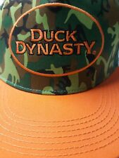 Duck Dynasty Family Certified Redneck Approved Mesh Camo/Orange Hat