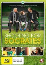 Shooting for Socrates  - new sealed DVD - northern ireland world cup soccer!