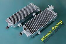 Aluminum Radiator Fit KTM 250/350/400/450/530 XC-W EXC EXC-R XCR-W 2007-2011 08