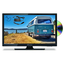 "EMtronics 20"" HD Ready 12v TV with DVD, Satellite Tuner and 12v / 24v Cable"