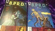 COMIC BOOK LOT 13 COMICS B.P.R.D.  # 1 - 6  + THE BLACK FLAME UNIVERSAL MACHINE