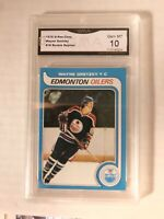 🚨 WAYNE GRETZKY 1979-80 OPC O-PEE-CHEE RC ROOKIE! GMA 10 Read Description