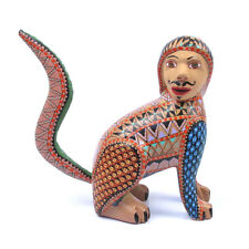 Nahual Oaxacan Alebrije Wood Carving Handcrafted Mexican Folk Art Sculpture
