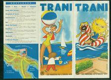 Prospekt Trani Bari Adria Italien 1950er Fotos Informationen Zeichnungen