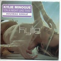 CD SINGLE Kylie MINOGUE On a night like this 2-track CARD SLEEVE G