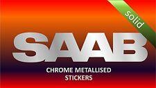 Saab X2 Chrome Metallised Vinyl Stickers for Car Body Glass Mirror Sticker