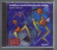 NICOLAI KAPUSTIN CD NEW PIANO MUSIC STEVEN OSBORNE