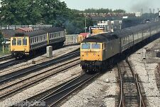 British Rail Class 47 47095 Oxford 4th June 1983 Rail Photo