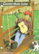 KEN Fashion Doll COUNTRY MUSIC GUITAR ~  plastic canvas pattern