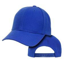 Royal Blue Youth Plain Blank Adjustable Tennis Baseball Ball Cap Hat Caps Hats