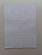 A4 cm square paper (20 sheets of 1cm/10mm square paper)