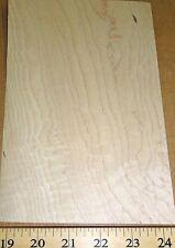 "Birdseye Maple wood veneer 5"" x 8"" with paper backing (light eye) 1/40th"" ""A-"""