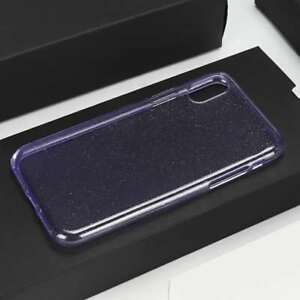 Luxury Blue Glitter Case and Free Tempered Glass Protector For Samsung S9 +