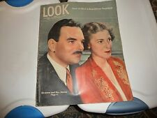 vtg 9/19/194  LOOK magazine Gov & Mrs DEWey   on cover  STORIES HOW to elect rep