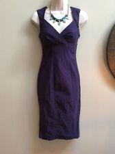 Ali Ro Dress Size 7 Sleeveless Purple Dress