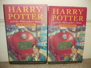 FIRST EDITION HARRY POTTER PHILOSOPHER'S STONE by ROWLING HB Bloomsbury 1st 16