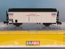 Brawa 67116, - Spur N -, SNCF Kühlwagen STEF, 2-achsig, weiss, Epoche 3