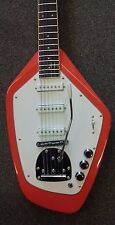 Revelation VX-63-F electric guitar fiesta red, with vibrato, brand new, Phantom