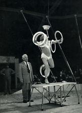 Photo Pierre Parente Spectacle Cirque Vers 1960