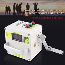 Tragbare Handkurbel Ladegerät Stromgenerator Mechanischer Notstromversorgung