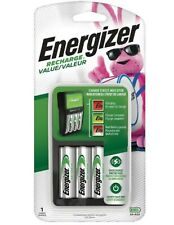 Energizer Rechargeable AA and AAA Battery Charger Recharge Value AA Included