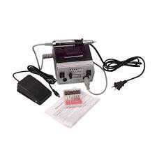 SALON EDGE Nail Art Drill Electric KIT FILE Bits SET Acrylics Salon Equipment US
