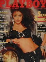 Playboy November 1986   Devin De Vasquez Donna Edmonson Sex in Cinema #1515+