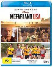 *New & Sealed*  McFarland USA (Blu-ray, 2015) Disney movie, Kevin Costner