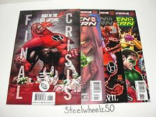 Green Lantern #36-38 Final Crisis Rage Of Red Lanterns Comic Lot DC 2009 37 1B