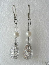 Unbranded Pearl Glass Fashion Earrings