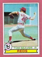 1979 Topps #100 TOM SEAVER Reds Card - NMT - NICE - 513