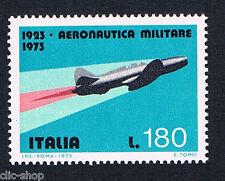 ITALIA 1 FRANCOBOLLO AERONAUTICA MILITARE 180 LIRE 1973 nuovo**