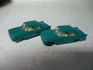 Matchbox Lesney Regular Wheels #33 Ford Zephyr- SPW & BPW, C8+