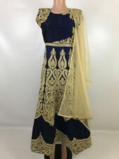 IBC $70 REtail $499 Anarkali Gown Rich Classy Look Indian Wedding REception suit