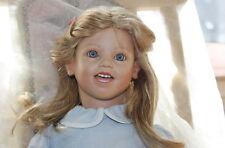 Lisa 1 von Annette Himstedt handgeknüpfte Perücke Top Zustand