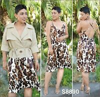S8890 Sewing Pattern Misses' Sun Dress Jacket MIMI G STYLE Sizes 6-14 or 16-24