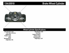 Drum Brake Wheel Cylinder-Front Drum, Rear Drum Rear Centric 134.63010