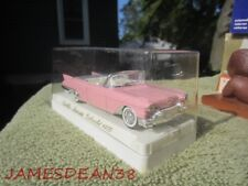 """Solido 1957 """"PINK"""" Cadillac Biarritz Cabriolet #4500 1:43 Scale Die-Cast"""