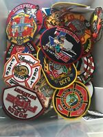 One Randomly Chose Fire Department Patch