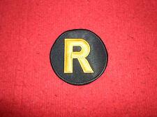 Robin Logo Embroidered Patch Batman